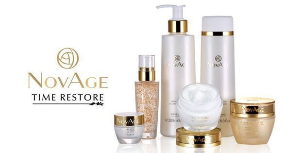 Time Restore Novage Oriflame Cosmeticos